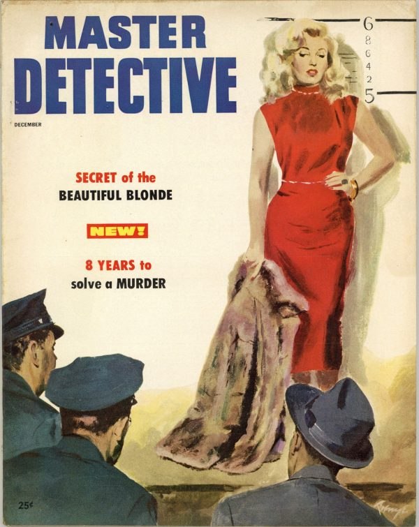 Master Detective True Crime Magazine December 1953