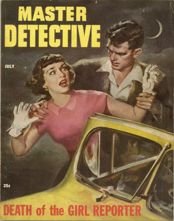 Master Detective True Crime Magazine July 1953
