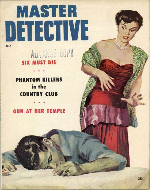 Master Detective True Crime Magazine July 1954