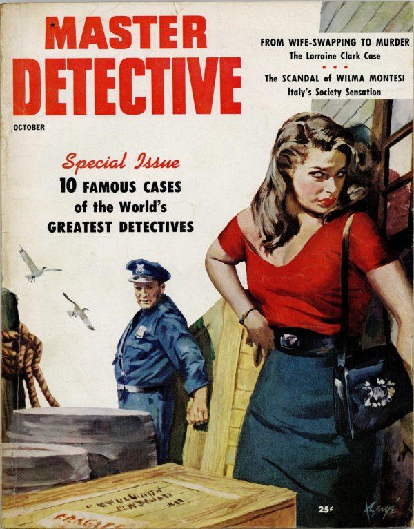 Master Detective True Crime Magazine October 1954