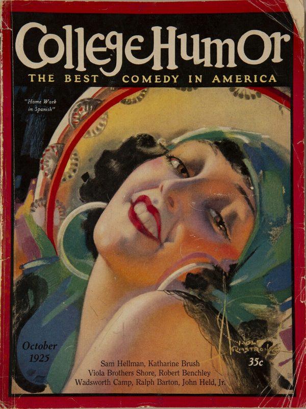 October 1925 College Humor Magazine