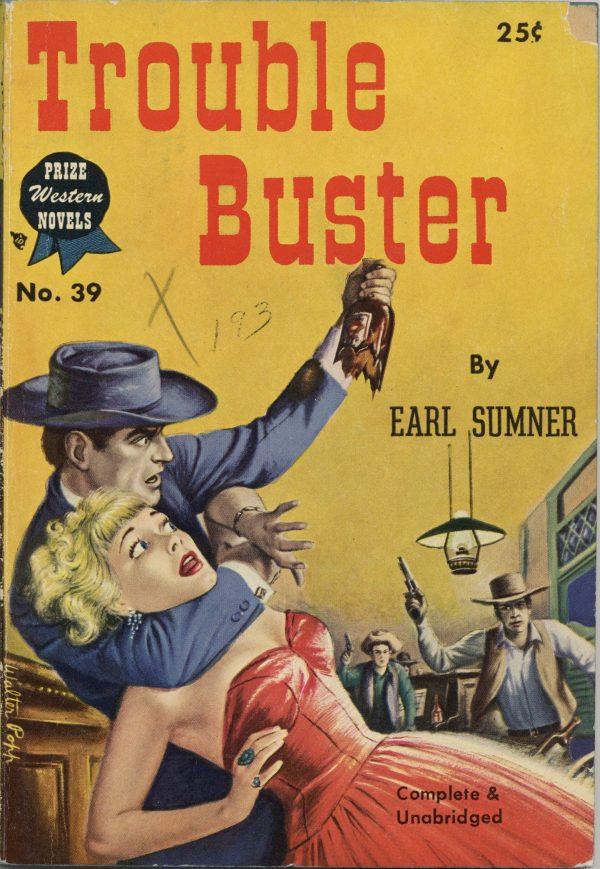 Prize Western Novels Digest #39 1950