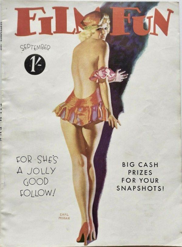 September 1935 Film Fun UK Magazine