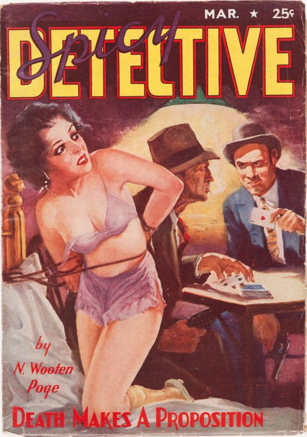 Spicy Detective Stories - March 1938