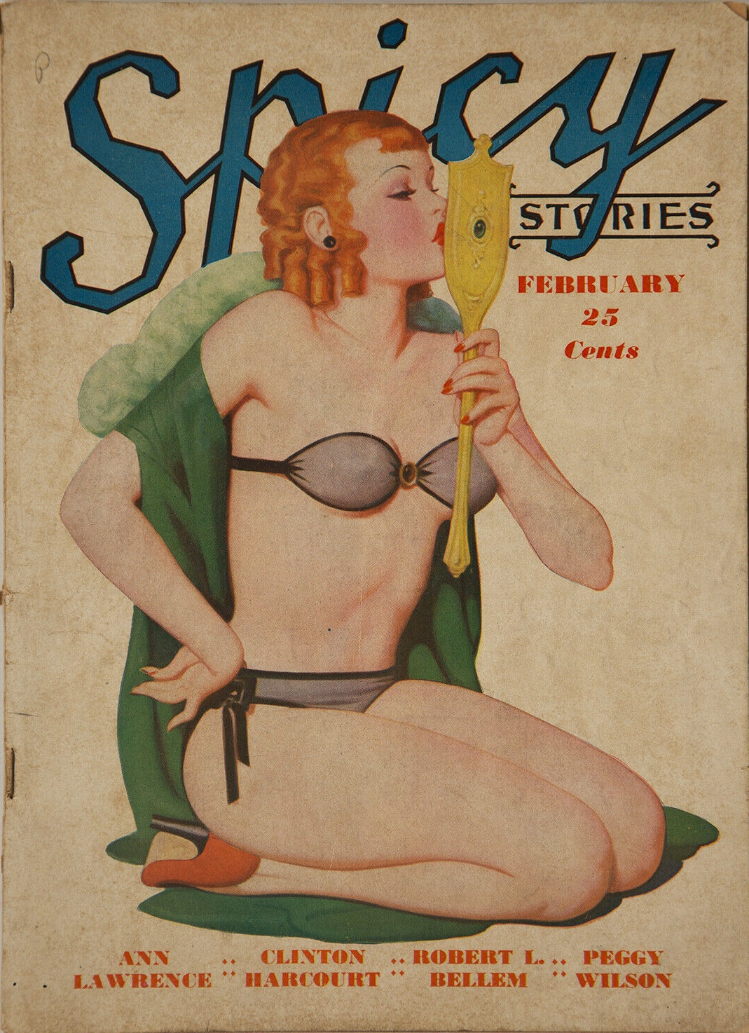 Spicy Stories December 1937 Pulp Enoch Bolles Magazine Fiction