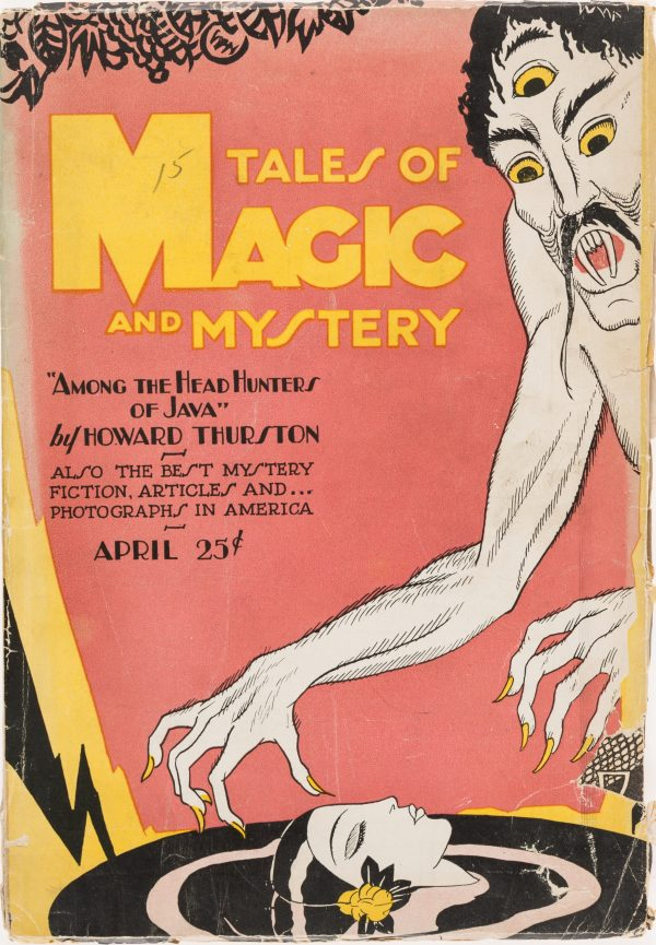 Tales of Magic and Mystery - April 1928