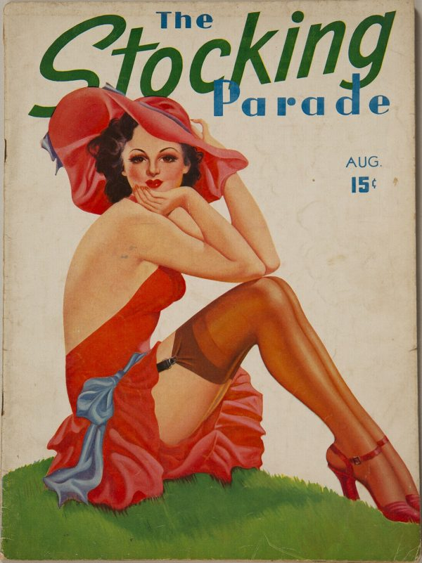 The Stocking Parade August 1938