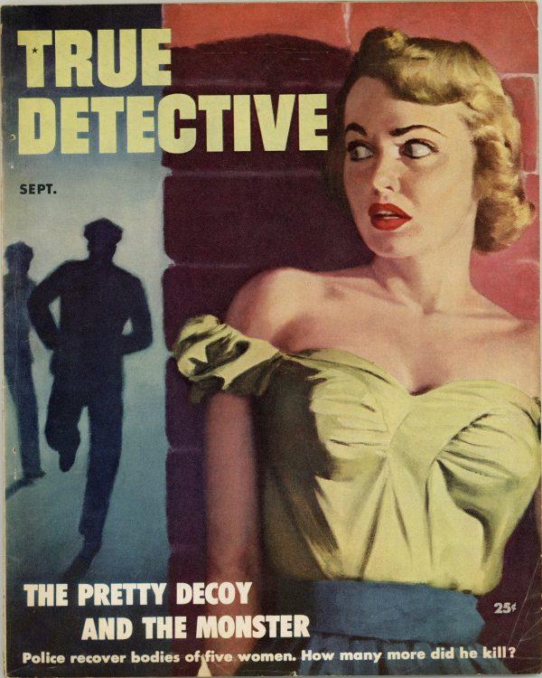 True Detective True Crime Magazine September 1952