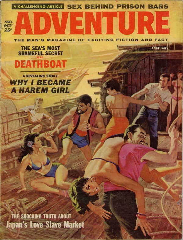 Adventure February 1961
