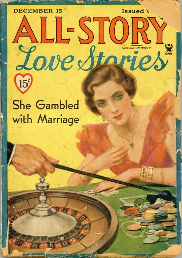 All-Story Love December 15 Stories 1934