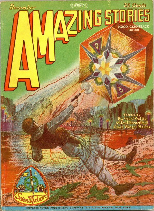 Amazing Stories, December 1928