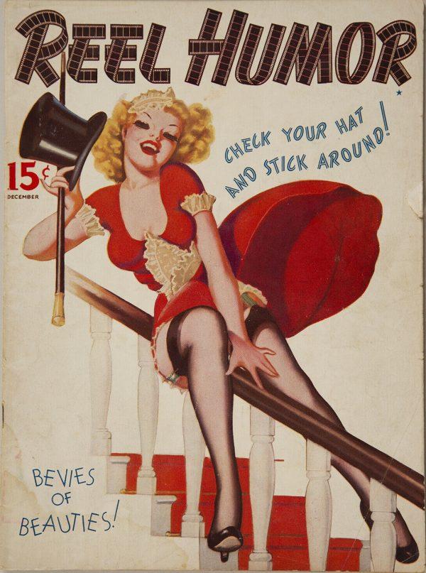 December 1937 Reel Humor Magazine