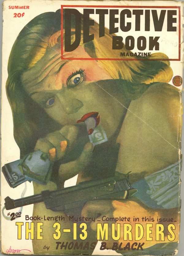 Detective Book Magazine June 1947
