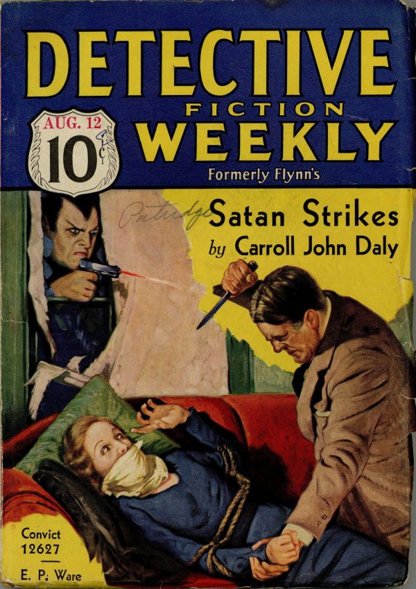 Detective Fiction Weekly August 1933