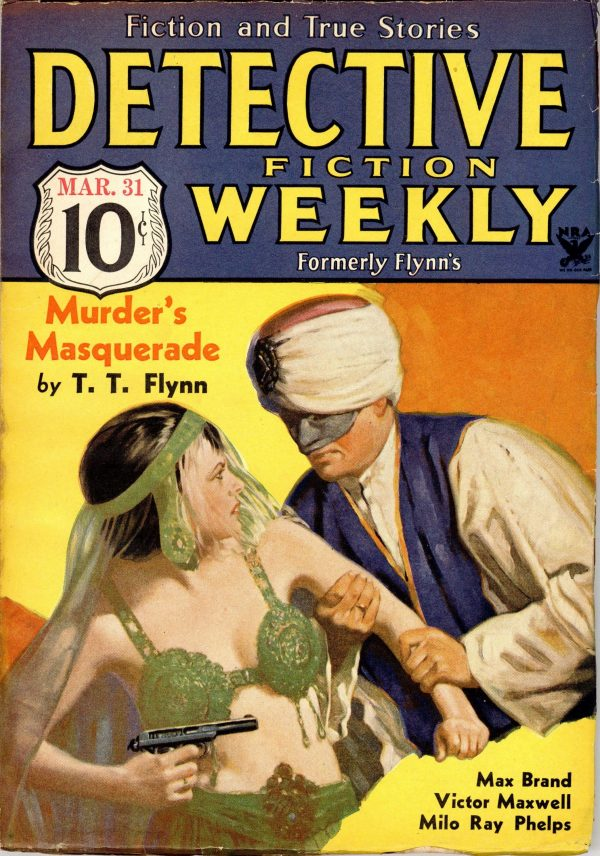 Detective Fiction Weekly March 10th 1934