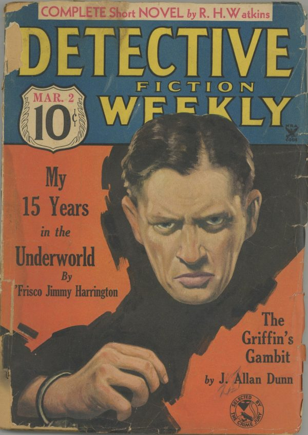 Detective Fiction Weekly March 1935