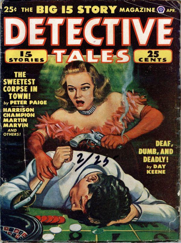 Detective Tales April 1948