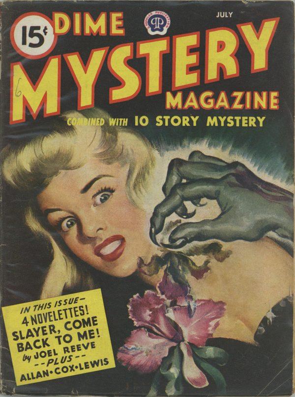 Dime Mystery Magazine July 1945