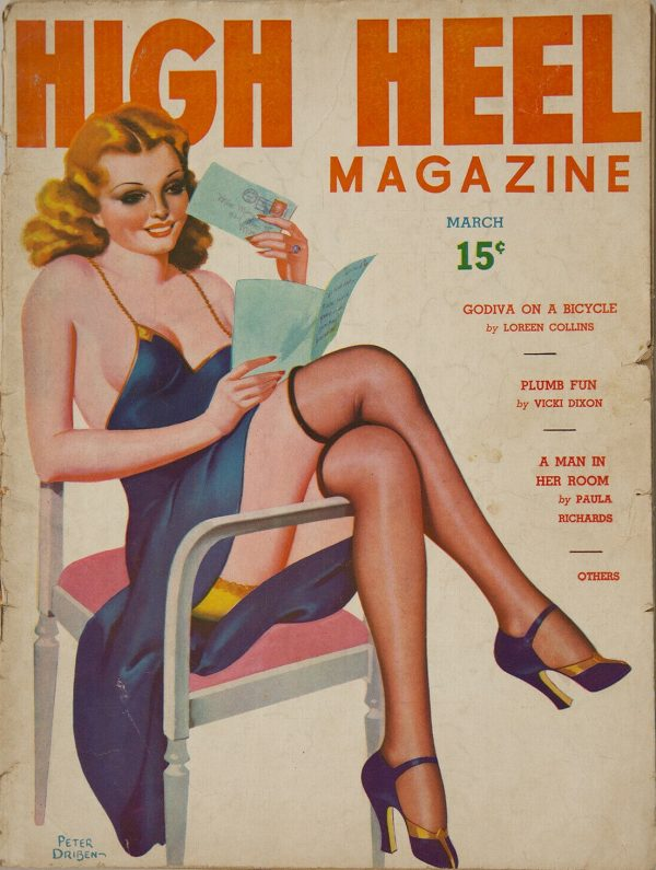 High Heel Magazine March 1938
