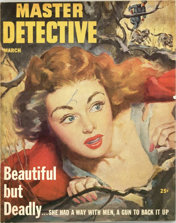 Master Detective True Crime Magazine March 1953