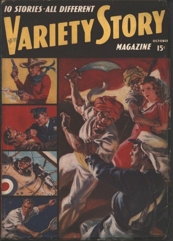 Variety Story Magazine 1938 October