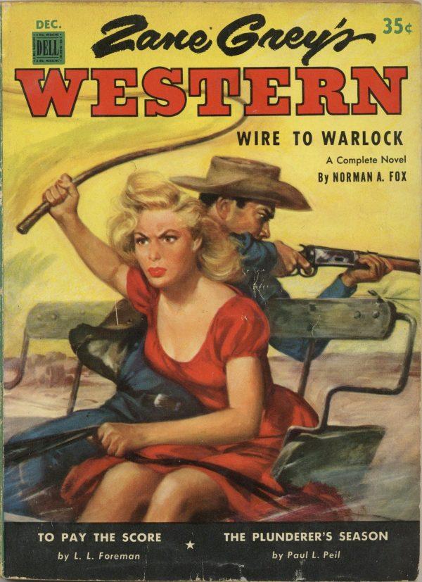Zane Grey's Western Magazine Decmeber 1952