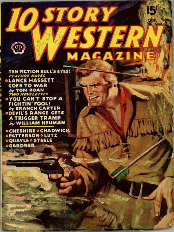 10 Story Western Magazine October 1945