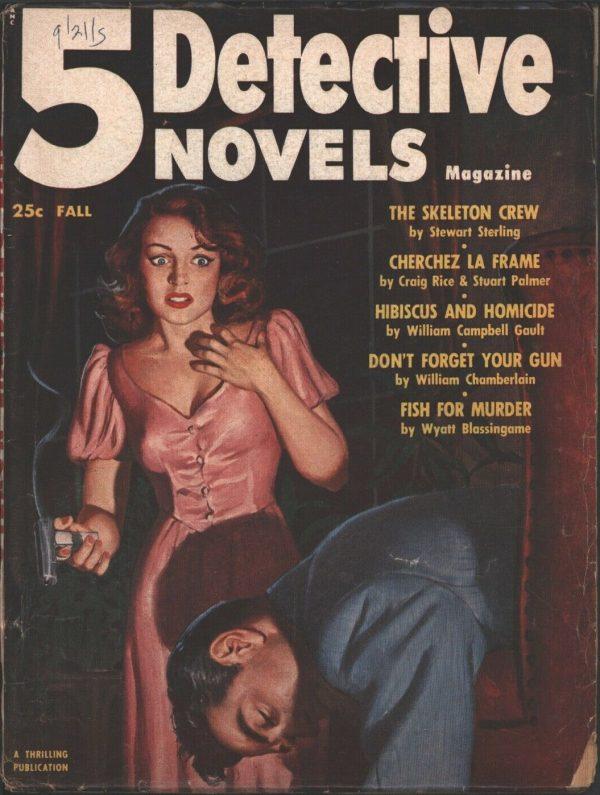 5 Detective Novels 1953 Fall