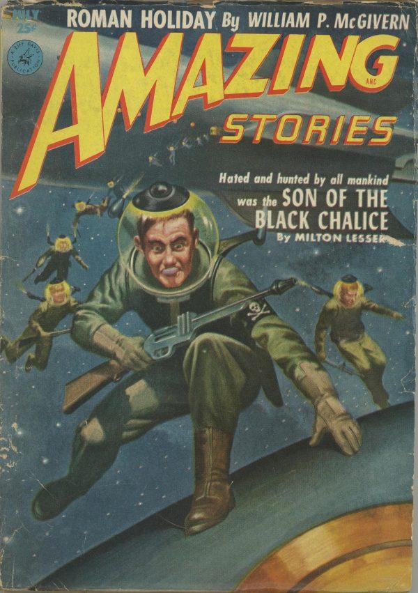 Amazing Stories July 1952