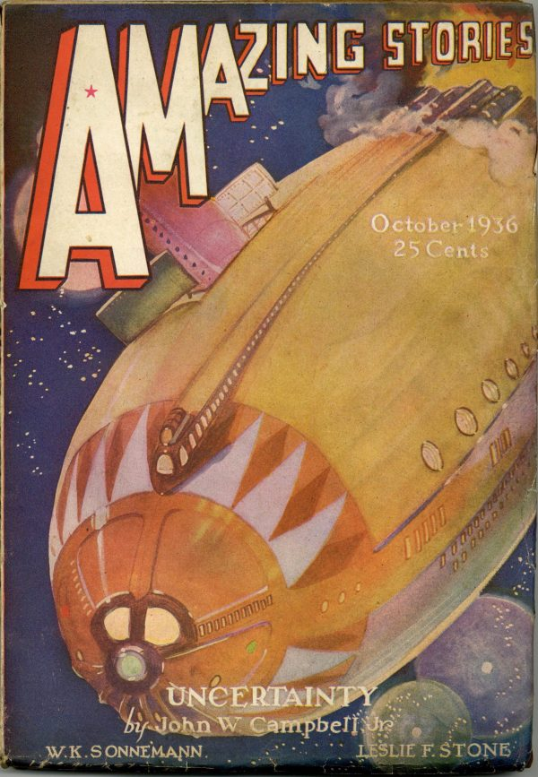Amazing Stories October 1936
