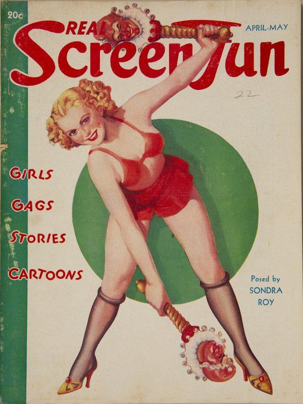 April-May 1937 Real Screen Fun Magazine