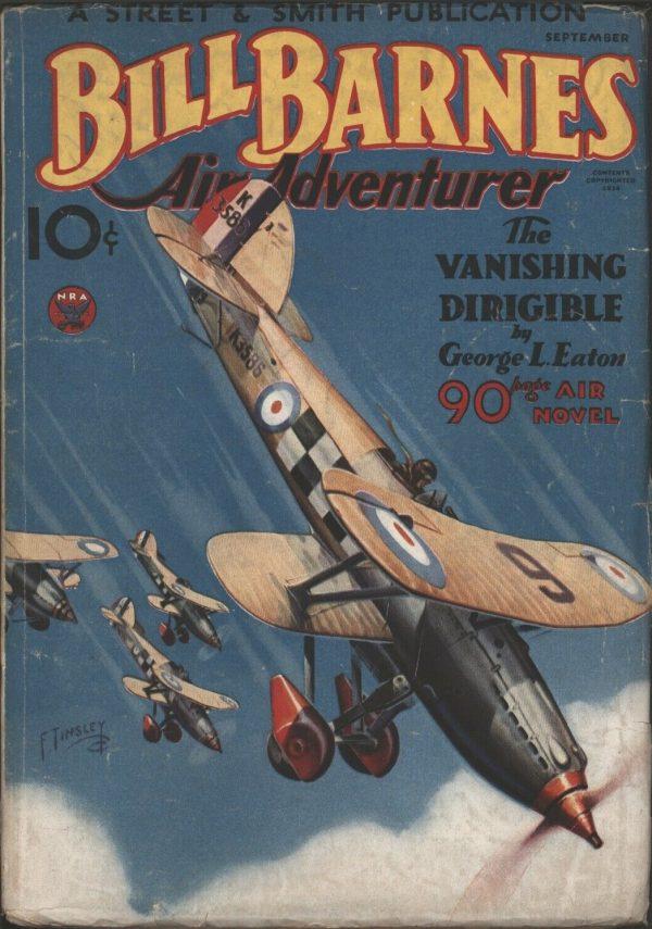 Bill Barns Air Adventurer 1934 September