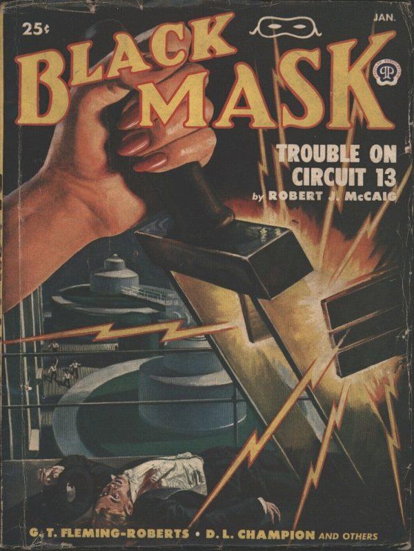 Black Mask 1949 January