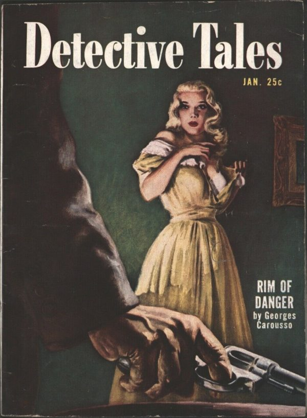 Detective Tales 1951 January