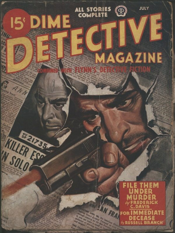 Dime Detective 1946 July