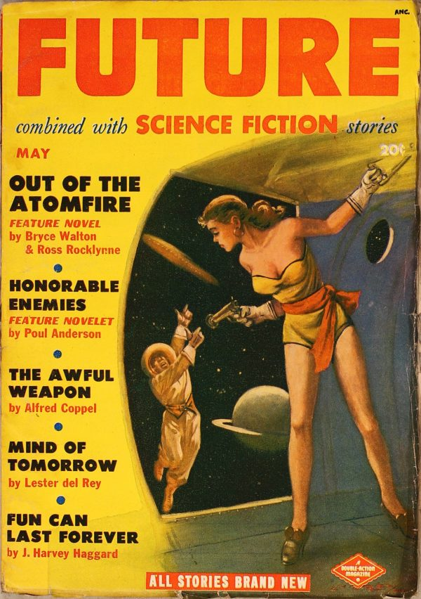 Future Combined with Science Fiction May 1951