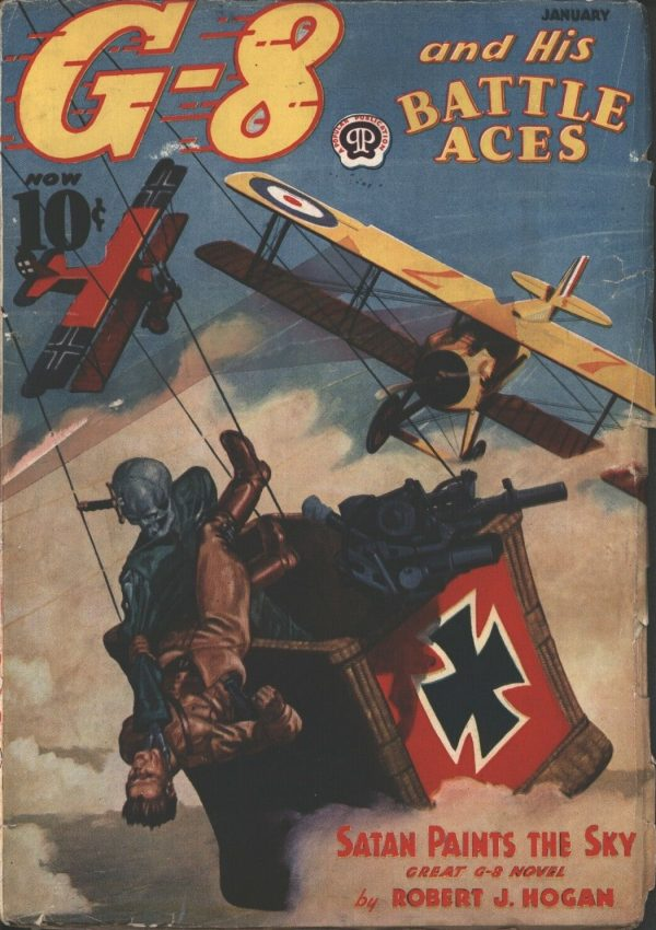 G-8 and His Battle Aces 1938 January