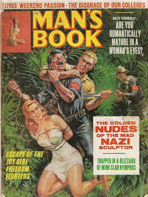 Man's Book Adventure Magazine - February 1967