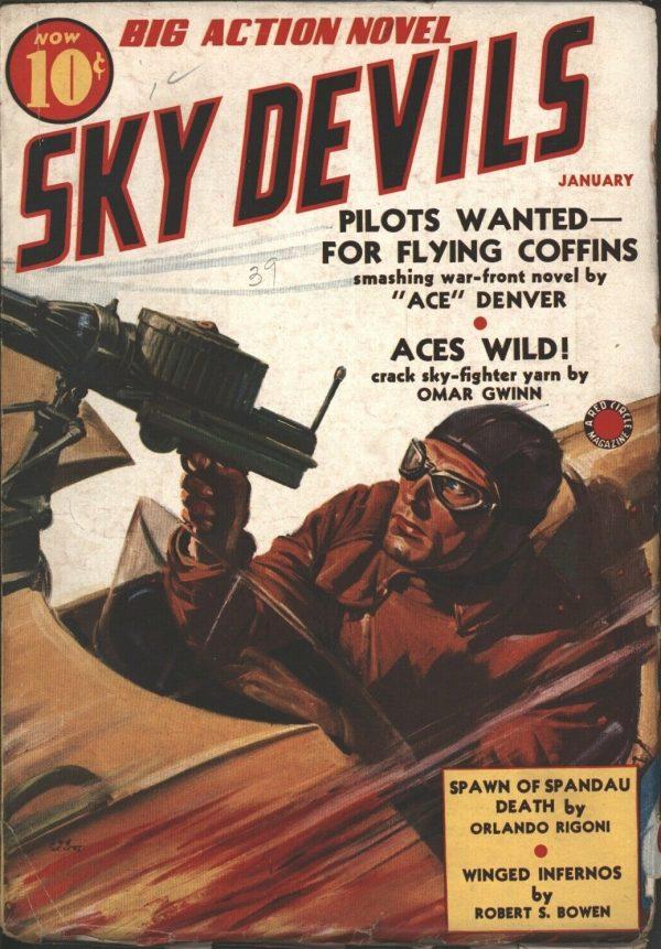Sky Devils 1939 January