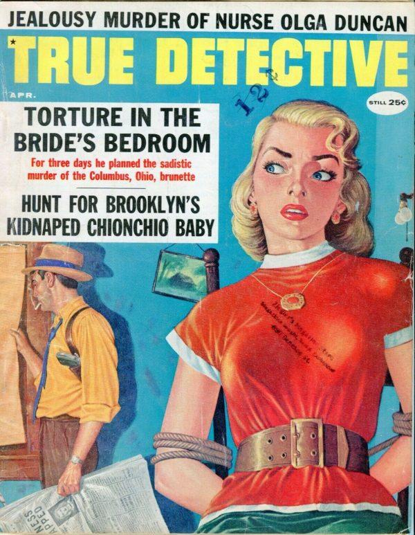 TRUE DETECTIVE April 1959