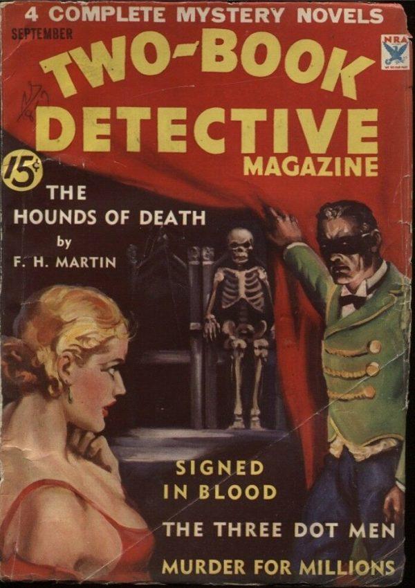 Two-Book Detective Magazine 1934 September