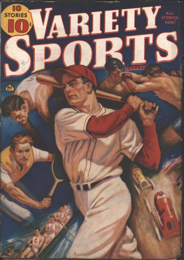Variety Sports Magazine 1938 September