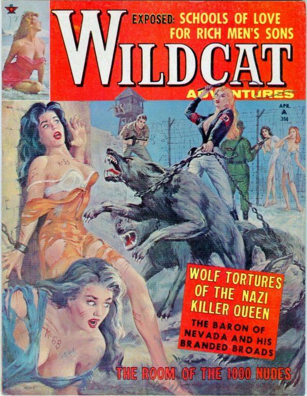 WILDCAT ADVENTURES April 1962