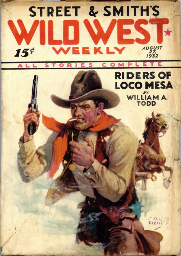 Wild West Weekly March 9 1932