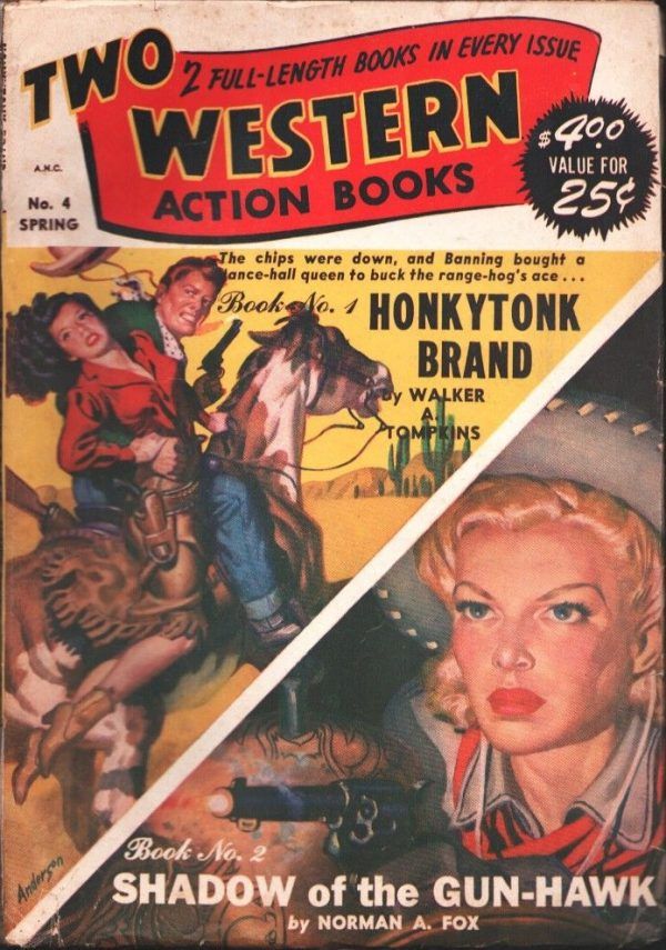 2 Western-Action Books Spring 1948
