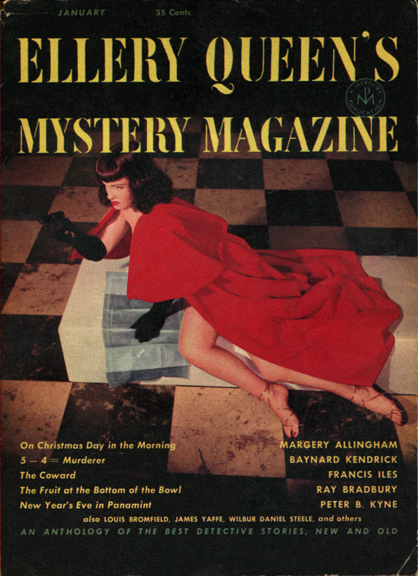 Ellery Queen's Mystery Magazine, January 1953