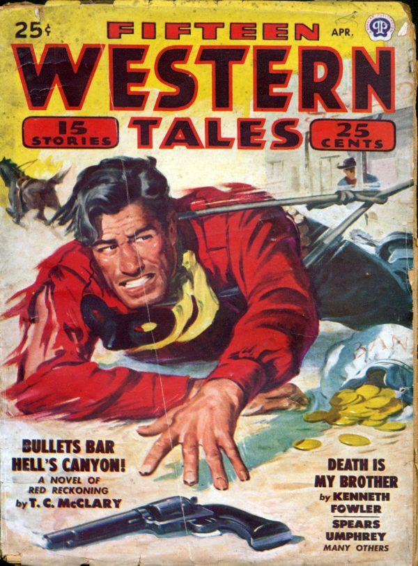 Fifteen Western Tales April 1948