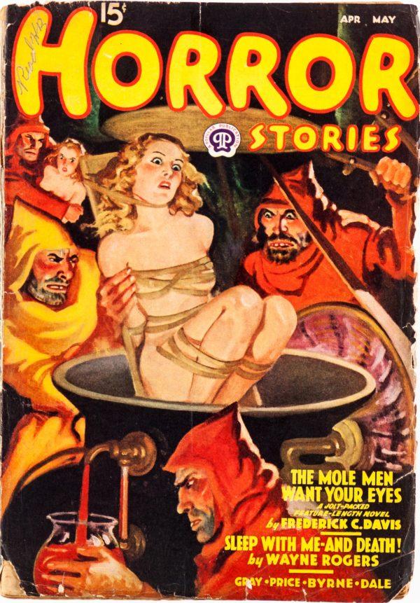 Horror Stories - April-May 1938