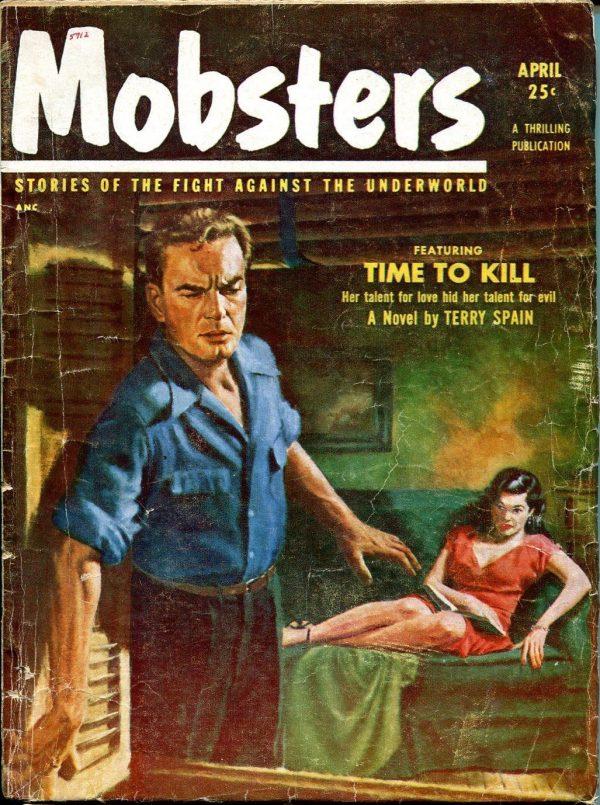 Mobsters magazine April 1953