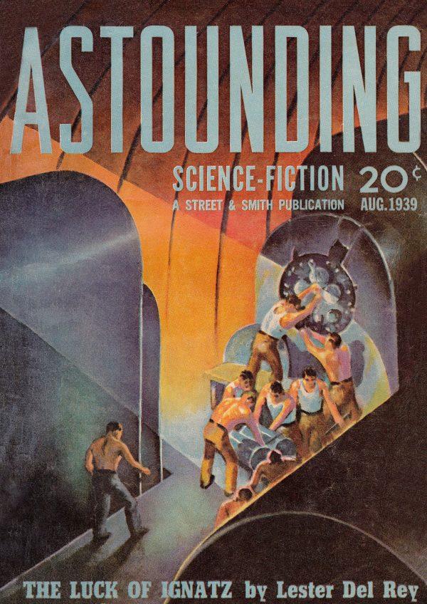 Astounding Science-Fiction, August 1939